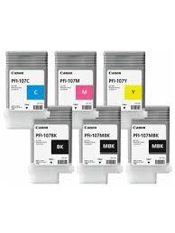 «<b>Картридж Canon PFI</b>-107 комплект (MBKx2,BK,M,C,Y) 6шт х ...
