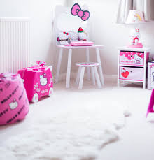 hello kitty furniture. The H\u0026M Wall Shelves Above Bed Are Great For Play, But Not Ideal Storing Larger Items. Trible Cube Shelving Is Fantastic Any Hello Kitty Furniture