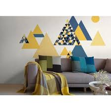 wallpaper for office walls. China Gris* Abstract Triangle Mountain Modern Wallpaper Pattern Wall Mural Office Decoration For Walls