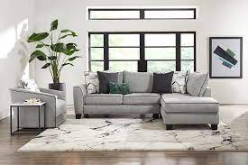 decorating with gray furniture living