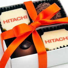 personalised chocolates gourmet chocolate gifts branded packaging hitachi
