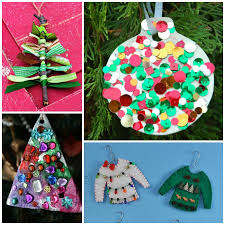 Top 38 Easy And Cheap DIY Christmas Crafts Kids Can Make  Amazing Christmas Ornament Crafts