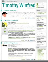 Resume Social Media Design Resume Template