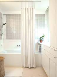 shower curtain or glass door walk in with fantastical decorating curtains awesome design how to change shower curtain or glass door