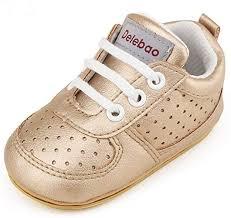 Delebao Baby Fashion Breathable Rubber Sole Crib ... - Amazon.com