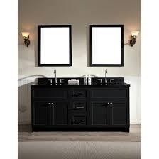 black bathroom vanity. ariel bath f073d-ab-blk hamlet 73\ black bathroom vanity w