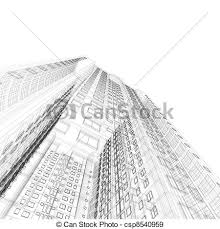 architecture blueprints skyscraper. Delighful Blueprints Architecture Blueprint  Csp8540959 Inside Blueprints Skyscraper