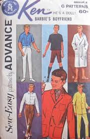 It's Sew Easy Patterns Inspiration Amazon Barbie KEN Sew Easy Fashions PATTERNS By ADVANCE Group