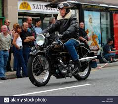 rudge sports special motorcycles at the sheene run rugby july 03