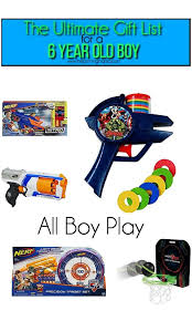 gift ideas for a 6 year old boy, all boy play The Ultimate Gift List Boy \u2022 Pinning Mama