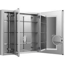 KOHLER Verdera 40 in. W x 30 in. H Recessed Medicine Cabinet in ...