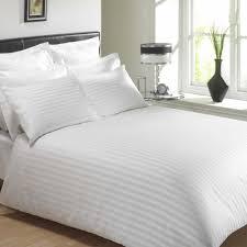 mayfair white duvet cover super king size