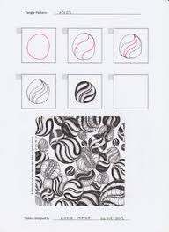 Zentangle Patterns Step By Step Simple 48 best Zentangle Pattern steps how to draw images on
