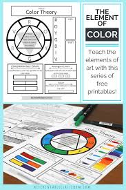 Simple, easy and super fun art ideas for beginners. Printable Color Wheel An Intro To Color Theory For Kids The Kitchen Table Classroom