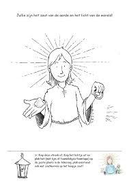 Knutselwerkje Zout En Licht Bible Craft You Are The Salt Of The