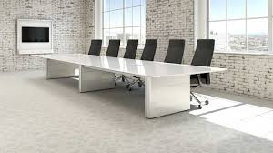 captivating white conference table lacquered mdf materials white
