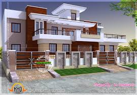 modern architecture floor plans style india house plan kerala home