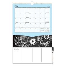 2018 lily val pockets more wall calendar