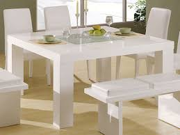 Small Picture Elegant White Kitchen Table SMITH Design