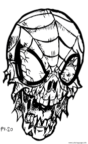 Find more printable zombie coloring page pictures from our search. Spiderman Zombie Coloring Pages Printable