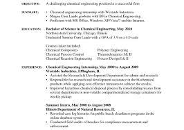 Chemical Engineer Resume Canadian Resume Sample Electrical