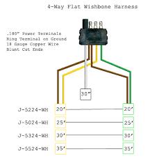 4 flat trailer plug wiring harness wiring schematic diagram 25 4 way flat wiring harness wiring diagram library trailer wiring plug cover flat 4 way trailer