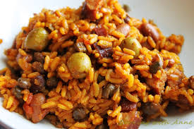 puerto rican rice and beans with chicken. Unique With Puerto Rican Rice And Beans And With Chicken