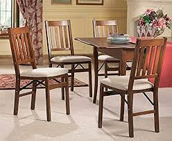 Arts And Crafts <b>Folding Dining Chairs</b> 2x Solid Hardwood Frame ...