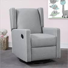 dorel monbebe everston swivel reclining glider in gray