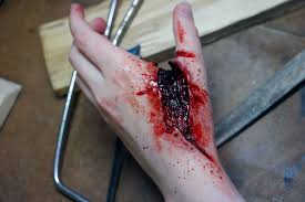 table saw accidents. table saw accident/sfx makeup tutorial accidents h