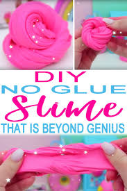diy slime without glue recipe how to