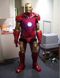 average iron man suit