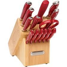 JA Henckels International Fine Edge Pro 7pc Knife Block Set Walmart Kitchen Knives