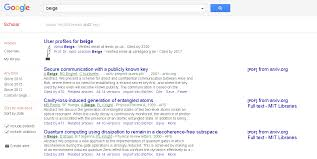 Obtaining The Doi In Google Scholar Web Applications Stack