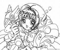 Tô màu Anime: 500+ tranh tô màu ấn tượng cho bé 2020 - PHMT