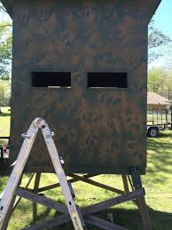 medium size of deer box blinds blind plans elevated hunting for plastic stand window kits