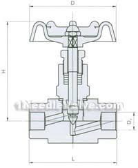fj w socket weld high temperature and pressure needle valve made    fj w socket weld high temperature and pressure needle valve constructral diagram
