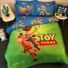 details about disney toy story woody cotton bed linens duvet cover comforter bedding set