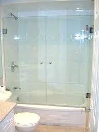 frameless sliding shower doors tub. Sliding Glass Bathtub Doors Frameless Shower Tub