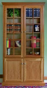 Breathtaking Oak Bookshelves With Glass Doors 16 With Additional Home Decor  Ideas with Oak Bookshelves With Glass Doors