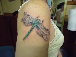 Dragonfly Tattoo Beauty Tattoo Girl