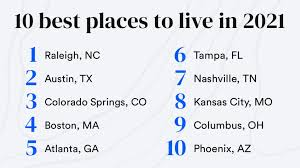 america s best places to live 2021