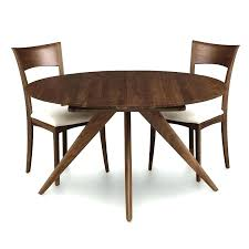 danish round extension dining table in teak by ole for sets id round extension dining round dining tables