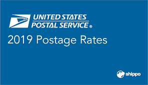 Usps Rate Chart 2019 The 2019 Usps Postage Rates With Charts Shippo