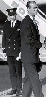 The man behind is Peter Middleton, Kate's grandfather. He was a pilot  during Philip's South American tour in the 60's. Sadly he passed away  before Kate and William's engagement. : TheCrownNetflix