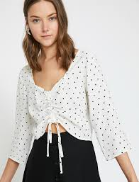 Dotted Tops Designs Dotted Blouse