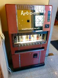 Cigarette Vending Machine Art Awesome Once A Cigarette Machine Artomat At CU Now Dispenses Art