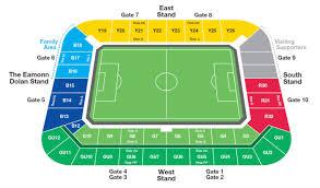 seating plan stadium
