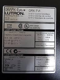 lutron module interface facbooik com Grx Tvi Wiring Diagram lutron grafik eye grx tvi 0 10v lighting dimmer control interface lutron grx tvi wiring diagram