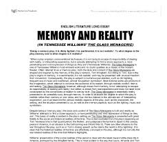 the glass menagerie being a memory play it is dimly lighted  document image preview